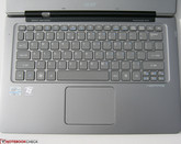 Full Keyboard and Touchpad