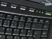 The TravelMate 6592G has a number of hot-keys for frequently used system functions.