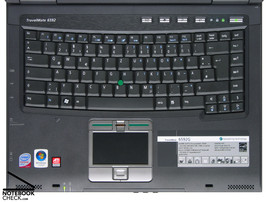 Acer TravelMate 6592G keyboard