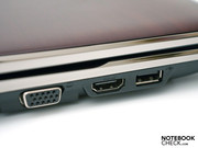 A modern HDMI port for high resolution material shouldn't be left out.