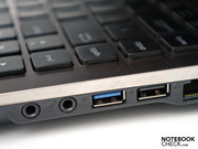 A special treat: a USB 3.0 port for fast peripherals.