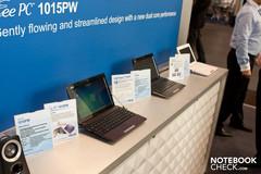 Asus Eee PC Line-Up mit AMD Brazos, Atom N570 und USB 3.0
