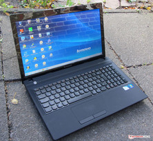 The IdeaPad N581 outdoors