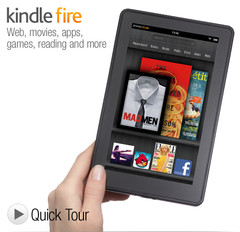 Amazon Kindle Fire is now official and yours for $199