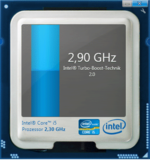 The processor runs with up to 2.9 GHz in Turbo mode and sufficient cooling