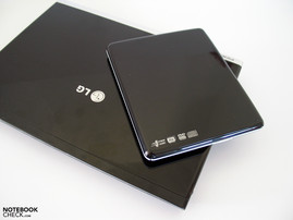 an external optical drive is included