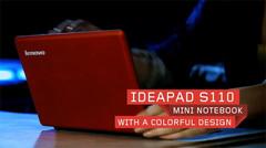 Lenovo reveals IdeaPad S110 netbook