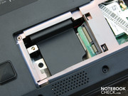 Update option: A second mini PCI express slot is ready for a module.