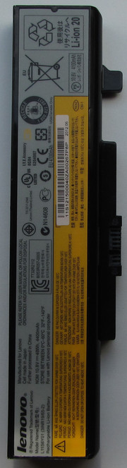 The dimensions of the battery are 20,8 cm x 5 cm x 2 cm...
