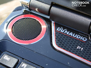 The Dynaudio sound system is an important feature of the GT660R.