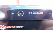The HP TrueVision HD camera is perfectly adequate