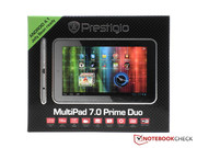 The PMP5770D is suitable for Android 4.1 Jelly Bean according to Prestigio.