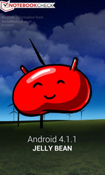 Android 4.1.1 Jelly Bean: The OS of the Galaxy S3 mini.