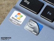 The Intel Atom N550 (1.50 GHz) is superior to the older N450/N455 due to two cores.