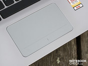 Apple-like touchpad (Clickpad)