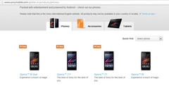 Sony Xperia Z1S spotted on Sony's website