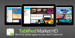 Tablified market is the tablet-only Android marketplace