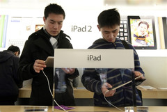 The new iPad crosses China regulatory stunts