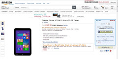 Toshiba Encore can be preordered from Amazon