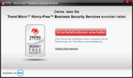 TrendMicro Security (trial version)