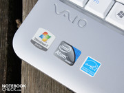 The Vaio mini is equipped with Intel's Pine Trail platform and Atom N450.