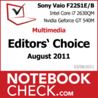 Award: Multimedia Notebook of August 2011