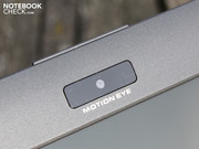 The inconspicuous webcam also has an unremarkable resolution: 0.3 megapixels.