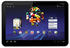 Some Motorola Xoom may have received a Jelly Bean update