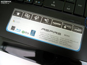 The Aspire 8935G scores regarding its equipment.