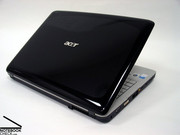 The Acer Aspire 7720G has a glossy lid and is, so, an elegant entry-level notebook...