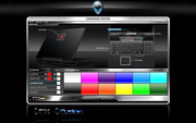 AlienFX Software Tools allows for complete customization from a huge selection of colors.