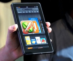 Amazon moving over 1 million Kindle Fire tablets per week