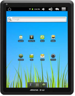 Archos announces Arnova 9 G2 tablet