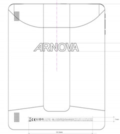 Archos Arnova 9 G3 tablet hits FCC