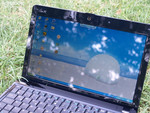 Asus Eee PC 1101HA outdoors