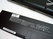 ...makes a battery life of up to 5 hours possible. So, the Eee S101 is also relatively ready for use on-the-move.