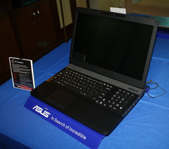 Asus G75 Ivy Bridge gaming notebook