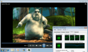 Big Buck Bunny 720p mp4 smooth CPU 39%