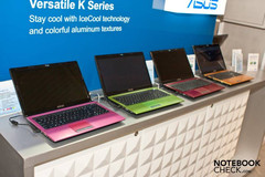Asus introduces colorful K53 notebook series