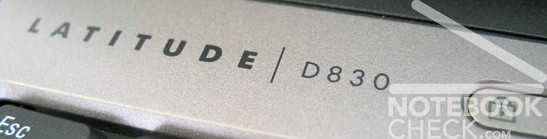 Test Dell Latitude D830 Logo