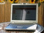 Dell XPS M1210 Outdoors