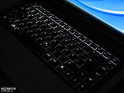 Dell gives the notebook a lighted keyboard without a surcharge,...