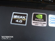Case stickers: The G60VX supports EAX 4.0