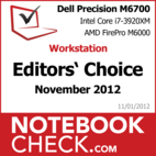 Award Dell Precision M6700