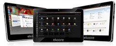 Ekoore outs three new tablets sporting Ubuntu, Android or Windows 7