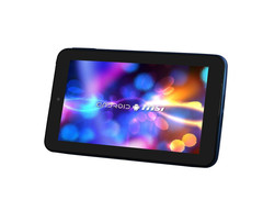 The 7-inch slab offers a dual-core CPU, an IPS panel, a microSD slot and two inbuilt cameras