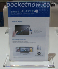Details of Galaxy Tab 8.9 surface before CTIA announcement tomorrow