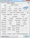 Systeminfo GPUZ Intel HD 2000