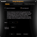 Energy Manager: Limits the battery charge to 50%