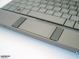 HP Mini 2140 touchpad